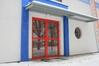 drzwi aluminiowe w budynku użyteczności publicznej