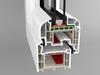 Okno PVC  system BRUGMANN RONDO