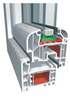 Okno PVC system Invest Rondo