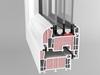 Okno PVC system PASSIV-LINE