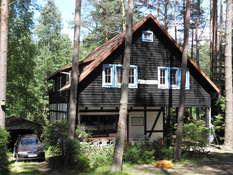 DOM Villa Jolanta wieś Nowa Kaletka nad jeziorem Gim okolice Olsztyna