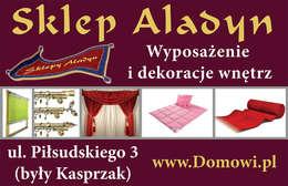 Sklepy Aladyn – wyposażenie i dekoracja wnętrz