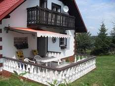 Domek na wzgórzu - Dąbrówno